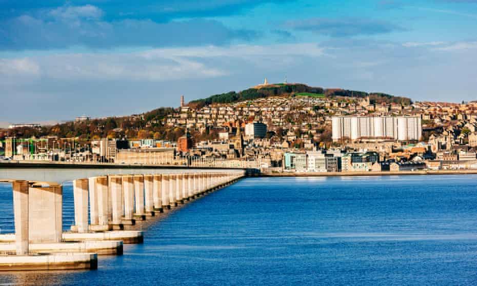 Tay Road Bridge, Dundee.