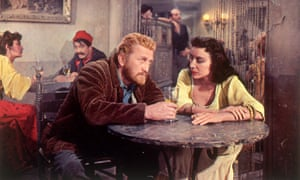 Kirk Douglas and Pamela Brown in Vincente Minnelli's Van Gogh biopic Lust for Life.