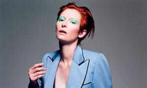 Tilda Swinton, Vogue Italia, February 2003