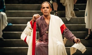 Peter de Jersey as Caesar.