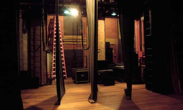 Waiting in the wings: Enright captures the magic of theatre