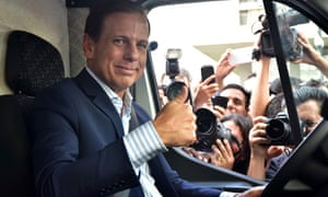 'Não reclame, trabalhe' … João Doria, prefeito de São Paulo. Foto: Brazil Photo Press/CON/LatinContent/Getty Images