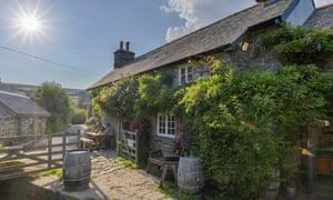 The Rugglestone Inn, Widecombe-in-the-Moor.