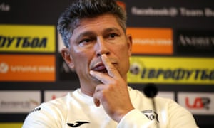 Bulgaria's manager Krasimir Balakov said he would like 'to focus on football because at the end of the day we are all civilised Europeans and we are all working for this sport.'