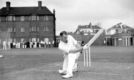John Reid on the Nursery Ground at Lord's. Throughout his career he got runs, wickets and catches and described himself as 'a bit of a thumper'.