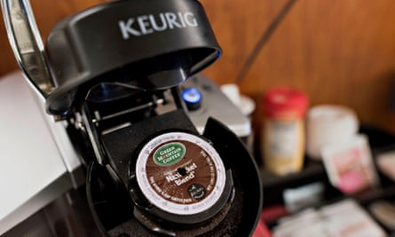 A Keurig coffee maker: facing the wrath of Hannity fans.