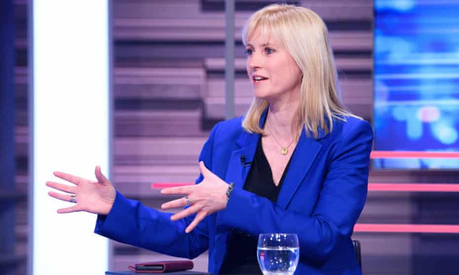 Rosie Duffield on the 'Peston' TV show in February 2020