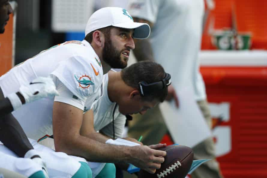Josh Rosen has had an unsettled start to his NFL career