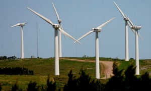 Almost 100% of Uruguay's electricity comes from renewable energy resources .