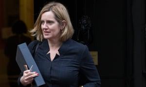 Amber Rudd, the home secretary, hopes to reduce net migration below 100,000.