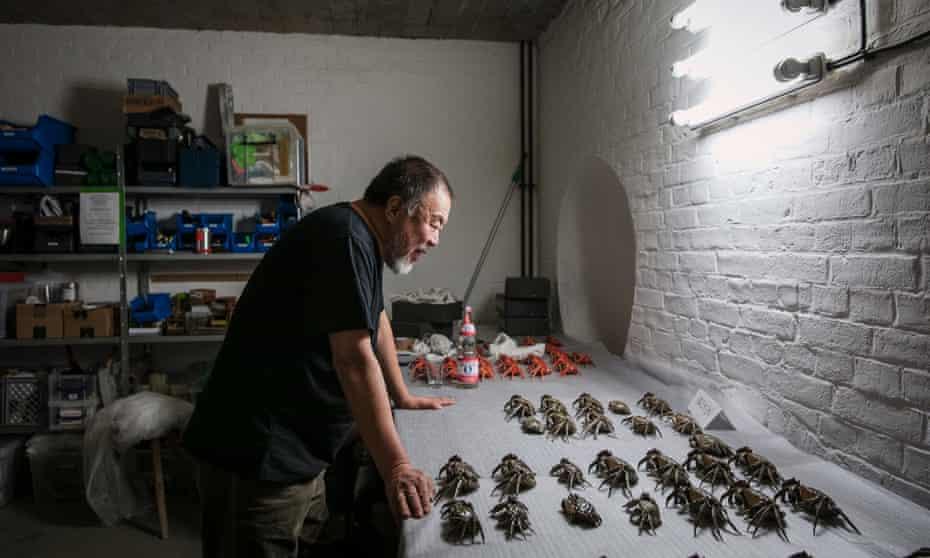 Ai Weiwei in his Berlin studio.