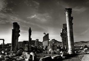 Destruction of the Monumental Arch, Palmyra, Syria, 2018