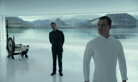 Michael Fassbender as 'synthetic' android Walter.
