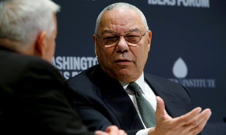 Colin Powell has said he will vote for Joe Biden.