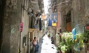 Naples is considered the heart of the southern Italy protest movements.