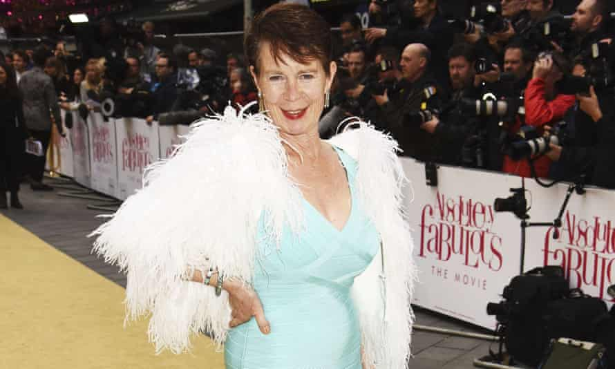 Celia Imrie at the world premiere of Absolutely Fabulous: The Movie.