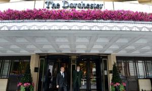 The Dorchester Hotel in London.