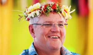 Scott Morrison at the Pacific Islands Forum