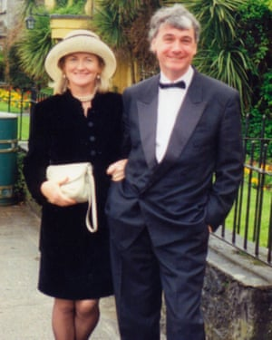 Nula with her late husband James Black.