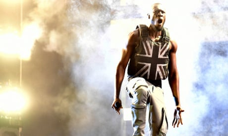 Designed by Banksy, worn by Stormzy: the banner of a divided and frightened nation