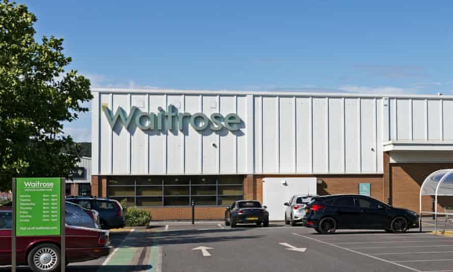 A Waitrose supermarket