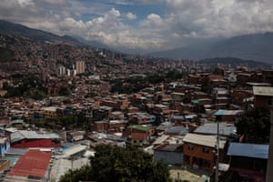 A view over the rooftops of Medellín