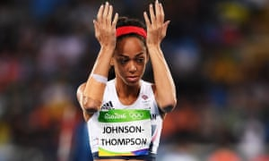 Katarina Johnson-Thompson suffered a disappointing heptathlon at the Rio Olympics and parted with coach.