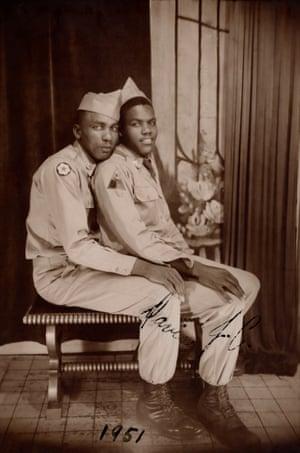 "p. 108 Lov104 Photograph 1951 121 x 83 mm Note: ""1951"" ""Davis & J.C."""