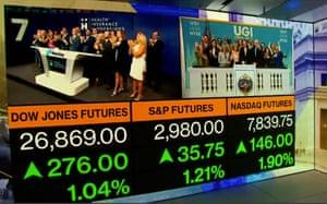 Wall Street open, July 01 2019