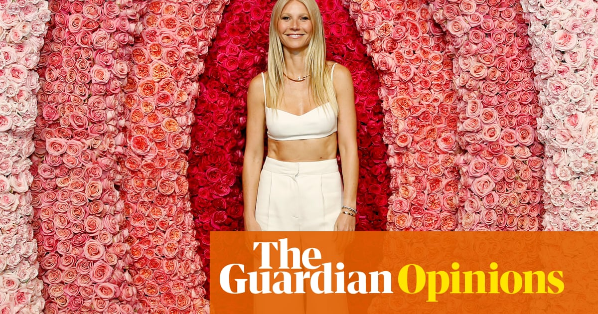 Gwyneth's Ark: sailing towards wellness but never quite getting there