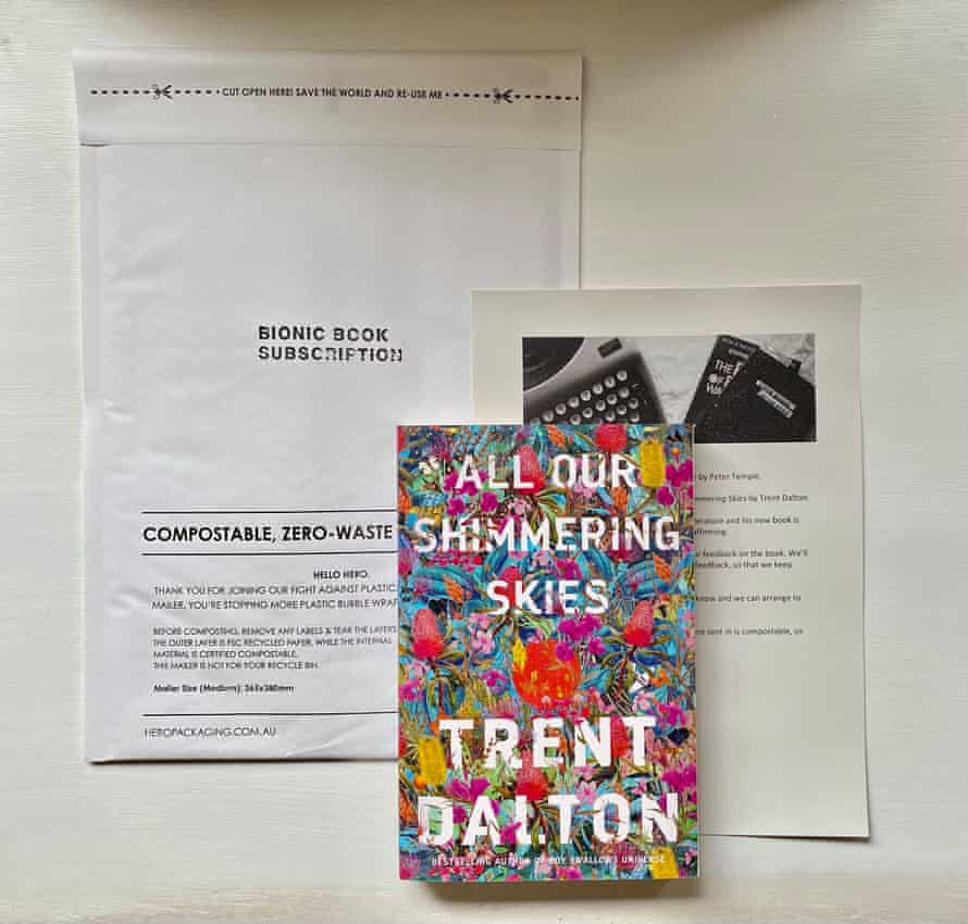 A Bionic Book Subscription package book and letter