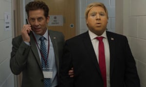 There's a slight problem... Donald Mohammed Trump prepares for a rally.