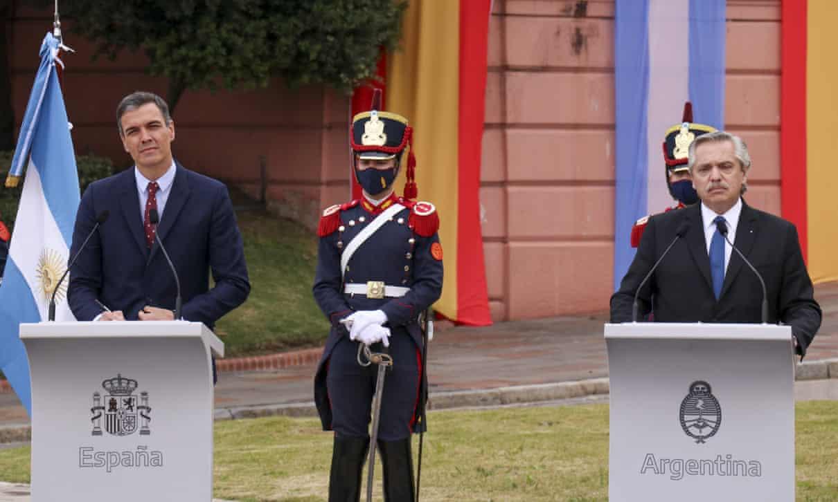 America's, Spain, argentina, Brazil, Mexico, Alberto Fernández, Pedro Sánchez, Harbouchanews