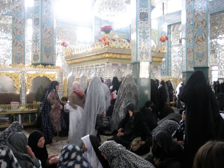 The most visited Shia shrine in Syria is Sayida Zaynab, the mausoleum of the sister of Imam Hussein, in a south-west Damascus suburb.