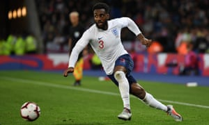 Danny Rose was England's best attacking player, providing good passes and options from the left.