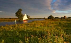 River Bure, the Broads, Holme, Norfolk