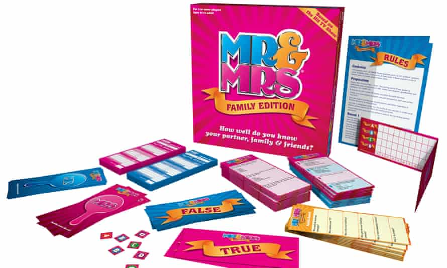 Mr & Mrs continues to be popular with families.