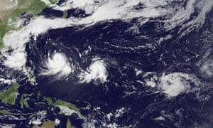On 7 July 2015, satellite images showed the Pacific Ocean with two typhoons, one tropical storm, one formation alert and one large area of increased convection.