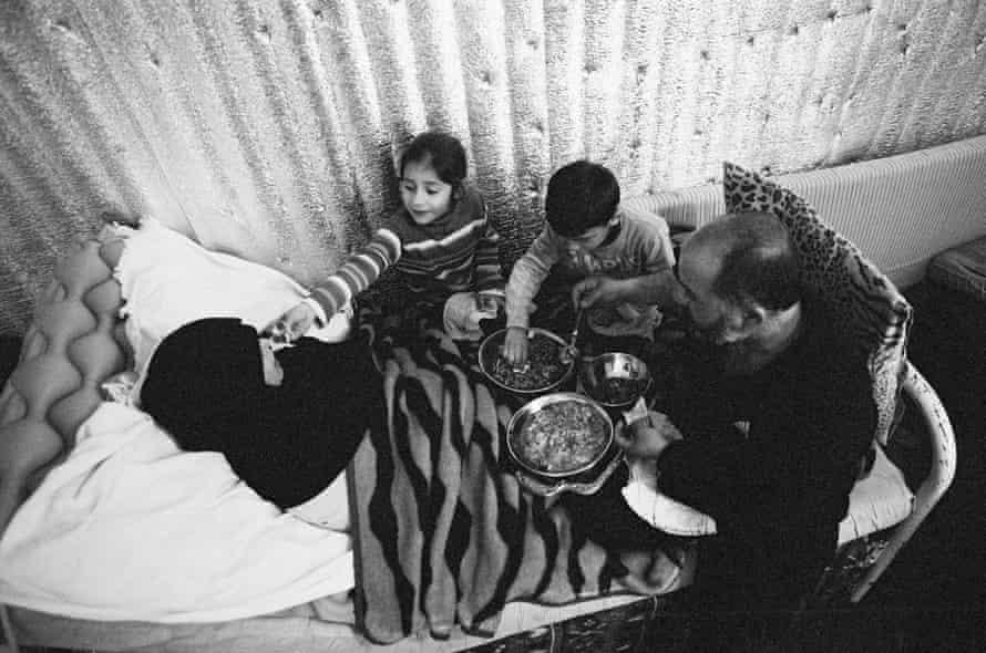 Khouloud and her family, Bar Elias, Bekaa Valley, Lebanon, February 2016