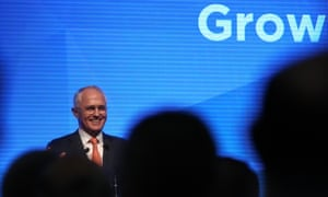 Malcolm Turnbull speaks at the Liberal campaign launch on Sunday