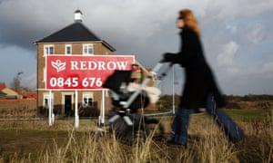 A Redrow Homes development in Heybridge, Essex