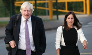 For Boris Johnson's wife, it's one affair too many  But his party