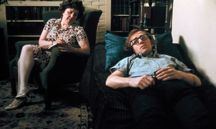 Woody Allen on the psyhciatrist's couch, in Bananas.