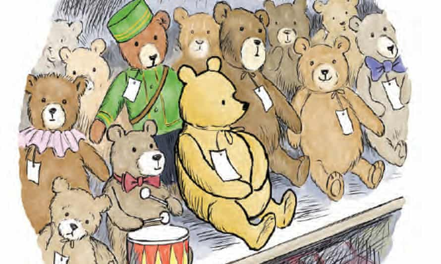 Winnie in Harrods, from the book Once There Was a Bear.
