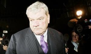 Holocaust denier David Irving.