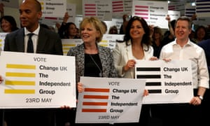 Change UK to change name again to Independent Group for Change