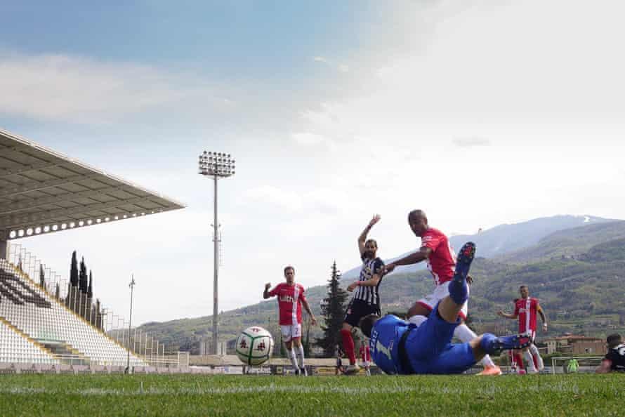 A Serie B match between Ascoli Calcio and AC Monza at Stadio Cino e Lillo Del Duca.