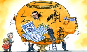 More than €170bn has been poured into Greece by the EU.