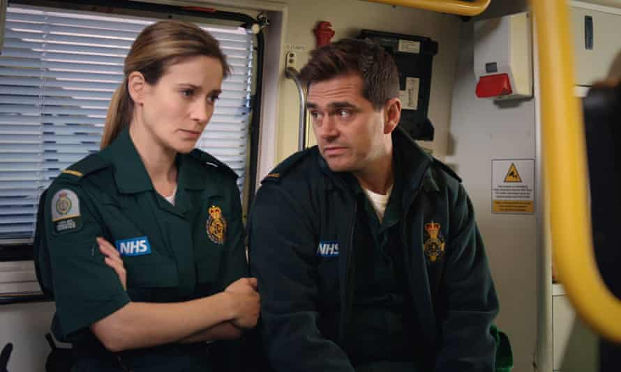 'The ambulance crews spend a lot of time chewing the fat …' Casualty.