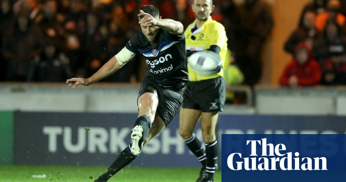cb0e9a7e0e3 Bath fly flag in Europe after Rhys Priestland puts boot into Scarlets